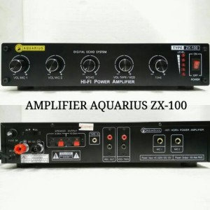 harga AMPLIFIER / AMPLI TOA AQUARIUS ZX-100 100w Tokopedia.com