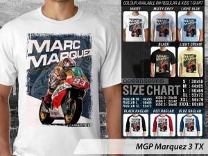 Kaos/Tshirt/Baju Balap or Racing Marc Marquez - MGP Marquez 3 TX
