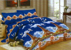 Bedcover Lady Rose Disperse 180 – Eiffel Tower