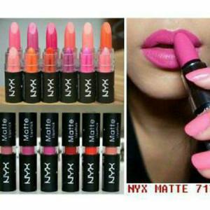 Lipstik nyx matte casing hitam
