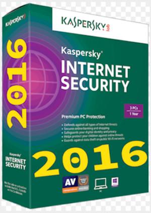 harga Kaspersky internet security 2016 1 tahun 3pc/3pcs/3 user Tokopedia.com