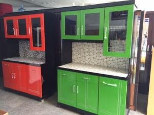 Lemari Dapur Kayu Plus Keramik