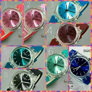 harga jam tangan swatch / swiss army rolex guess quicksilver Tokopedia.com