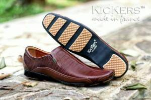 harga sepatu kerja pantofel formal pria kickers original Tokopedia.com