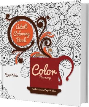 Color Harmony Adults Coloring Book By Ranggi Ariliah