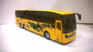 Die Cast Miniatur Bus MK 3 Warna Kuning