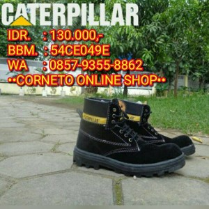 Safety Shoes Sepatu Caterpillar Murah
