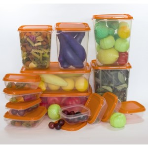 IKEA Pruta Food Container Kotak Toples Bekal Penyimpanan Makanan 17pcs
