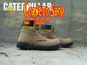 Sepatu Boot Caterpillar Safety shoes Murah