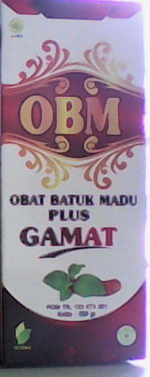 OBAT BATUK MADU GAMAT