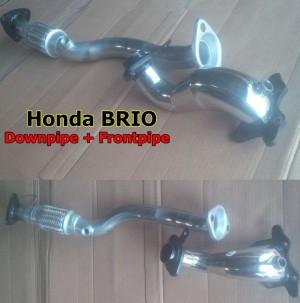 Downpipe dan Frontpipe Honda BRIO