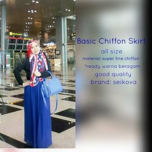harga good quality rok sifon chiffon skirt rok panjang Tokopedia.com