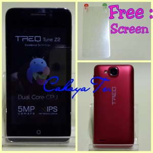 Smartphone Android TREQ Tune Z2 Layar 4