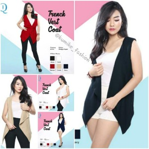 harga Trench Vest Coat Tokopedia.com