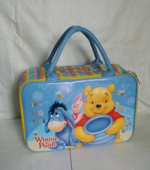 harga Tas travel koper /travel bag kanvas winnie the pooh saten premium Tokopedia.com