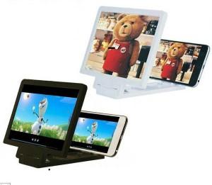 Kaca Pembesar Layar HP / Enlarged Screen Handphone -- warna hitam
