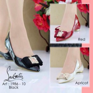 f67bbdd2cfb6 spain christian louboutin high quality flat shoes borong grosir ad8ad  d5735  shop sepatu louboutin sepatu branded import flat shoes 3f2fa 88ad1