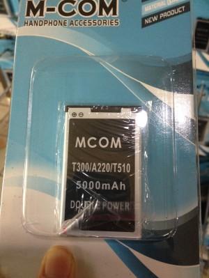 Baterai Mito T300 / A220 / T510 Ba-00004 Mcom Double Power 5000mah