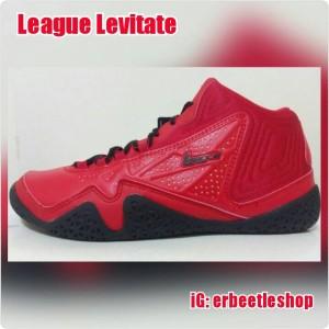 harga Sepatu Basket League Levitate, Merah Hitam, New, Ori Tokopedia.com