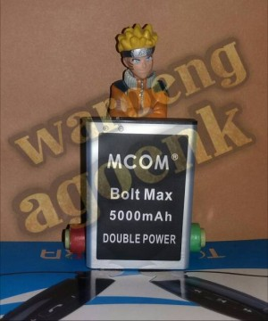 Baterai M-COM For Modem BOLT MAX Double Power 5000mAh