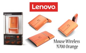 harga Lenovo Dual Mode Wireless Touch Mouse N700 Orange - MURAH Tokopedia.com