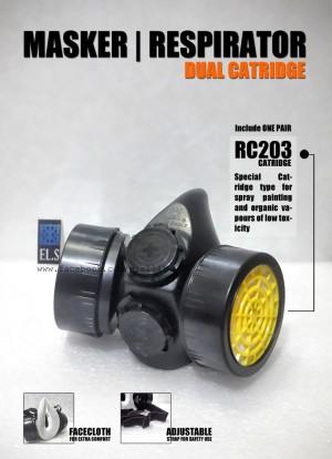 harga Masker Respirator Dual Catridge Tokopedia.com