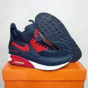 harga Sepatu Basket Pria. Nike AirMax 90 SneakerBoots. Biru Donker. Tokopedia.com