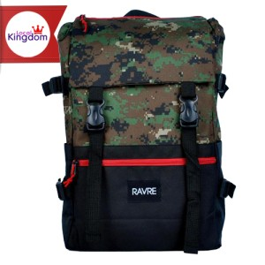 harga RAVRE THE TROOPERS ARMY BLACK / Ransel 16L Polyester / Laptop Up 14