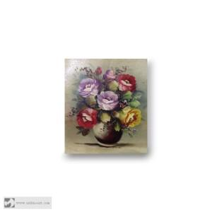 harga Lukisan Bunga Mawar Tokopedia.com