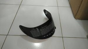 kaca helm kyt rc7,  k2 rider,  R10 hitam
