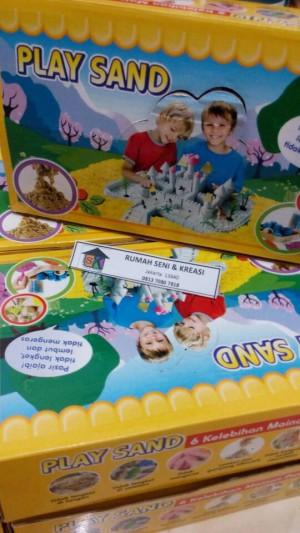 harga Kinetic Sand / Play Sand / Pasir Mainan / Pasir Kinetik Tokopedia.com