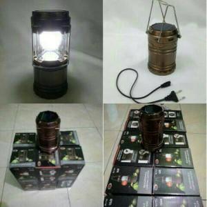 Lampu Camping Lantera Solar / Lampu Emergenc