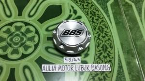 harga dop center / roda velg racing bbs silver kaki 5,9 cm topi 6,3 cm (1bh) Tokopedia.com