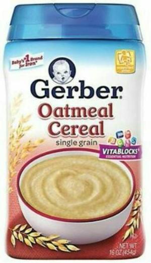 Gerber Oatmeal Cereal - Nestle / Bubur Sereal Bayi