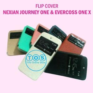 harga Leather Case FlipCase FlipCover Evercoss one x dan Nexian Journey One Tokopedia.com