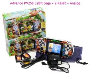 Game PSP - PVP - P2P Advance 32Bit AG-S320 2 Kaset