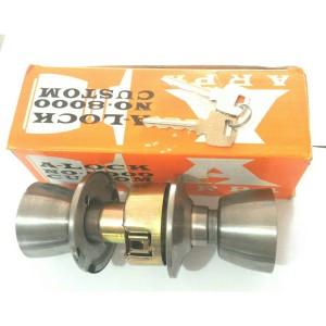 Kunci Pintu PVC / pintu kayu / Kunci bulat / door lock