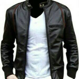 Jaket Semi Kulit Model Aril