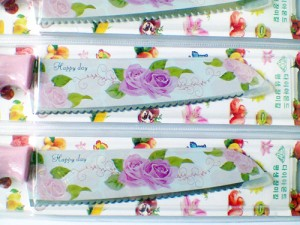 Pisau Dapur Gerigi Model Mawar Cantik Knife Rose Made In Korea As Se