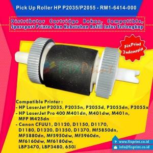 harga Pick Up Roller HP LaserJet P2035 P2055 RM1-6414-000 Tokopedia.com
