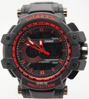 GShock / G-Shock GPW 1100 Black Red