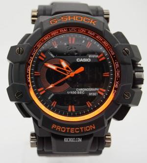 GShock / G-Shock GPW 1100 Black Orange