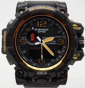 GShock / G-Shock GWG 1000 II Black Gold