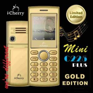harga iCherry C225 Gold HP Mini seukuran korek gas Tokopedia.com
