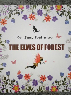 Maystore Buku Mewarnai THE ELVES OF FOREST Coloring Book