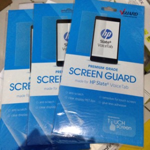 Antigores Screen Guard HP Slate 6 VoiceTab II