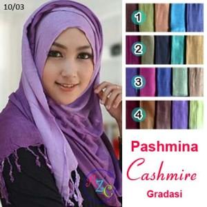 harga Pashmina Viscose Kashmir Gradasi Tokopedia.com