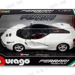 harga Diecast Bburago 1:24 - La Ferrari Putih Tokopedia.com