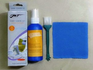 LCD Cleaner Cleaning Kit 3in1 3 in 1 Pembersih Layar Monitor Notebook