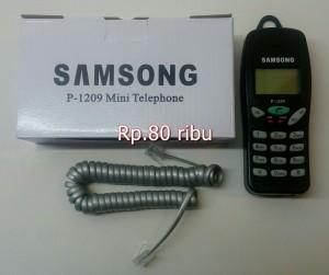 harga SAMSONG MINI TELEPHONE P-1209 Tokopedia.com
